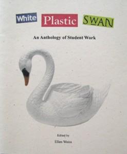 White Plastic Swan